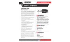 Dymaxion Mass Spectrometer - Datasheet