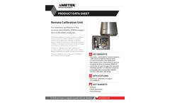 Remote Calibration Unit - Data Sheet