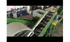 TDS 1800 Shredding Plant - Tyre Shredding Line - Shredwell, China Video