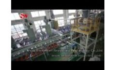 TSP 2000 Scrap Tire Recycling Plant - Tyre Recycling System 2 Tons per hour - Shredwell, China Video