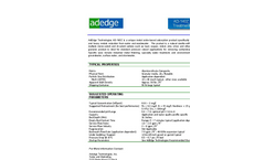 AD140Z Metals Treatment Media - Brochure