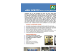 Adedge - APU Series - Arsenic and Heavy Metal Treatment Systems - Brochure