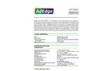 AD-74 Fluoride Media Product Bulletin - Brochure
