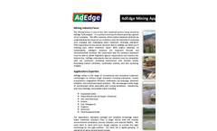 AdEdge Mining Applications - Brochure