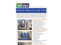 Adedge - Brands and Capabiliites - Brochure