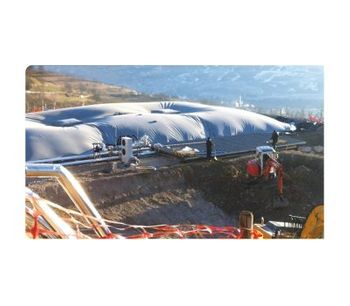 Alligator - Biogas Storage Tank