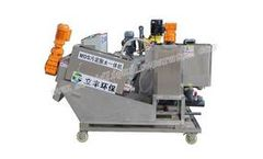 Zhejiang-Lifeng - Model MDS131 - Sludge Dewatering Unit