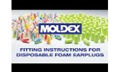 Foam Earplug Fitting Instructions Video