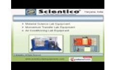 Laboratory Equipments by Scientico, Ambala Video