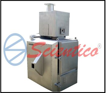 Scientico - Model 200kg - Medical Waste Incinerator