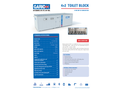 Garic - Model 4+2 - Toilet Block - Datasheet