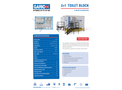 Garic - Model 2+1 - Portable Toilet Block - Datasheet