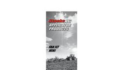 Fan Jet - Rotary Feed Applicators Brochure