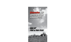 Stocks - Versatility Turbo Jet Applicator Brochure