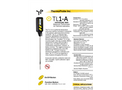 Model TL1-A - Digital Portable Stem Laboratory Thermometer Brochure