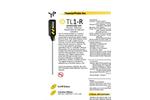 Model TL1-R - Portable Stem Precision Thermometer Brochure