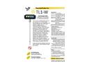 Model TL1-W - Digital Portable Stem Laboratory Thermometer Brochure