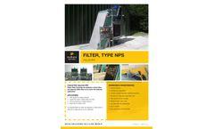Nijhuis - Model Type Aquarake NPS - Self-cleaning Channel Filter - Brochure