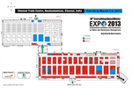 10th EverythingAboutWater Expo 2013 International Exhibition & Conference on Water & Waste Floor Plan