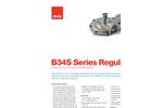 Model B34S - Medium Duty Commercial & Industrial Regulator- Brochure
