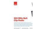 Model 900 MHz - Belt Clip Radio- Brochure