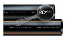 Model PE 100 RC Plus - Open Trench Pipe
