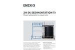 2H - Model SK - Sedimentation Tank - Brochure