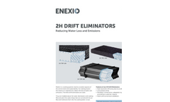 2H PLASdek - Drift Eliminators - Brochure