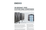 2H BIOdek - Model IFAS - Integrated Fixed Film Activated Sludge System - Brochure