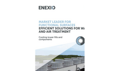 Cooling Tower Fills and Components - Brochure