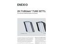 2H TUBEdek - Lamella Clarifiers (Tube Settlers) - Brochure