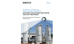 Biological Exhaust Air Treatment/Odor Control - Brochure