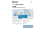 2H Sanipacking - Anti-Legionella Fills for Cooling Towers - Brochure