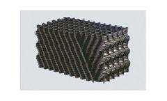 2H Plasdek - Counter-Flow Cooling Tower Fills