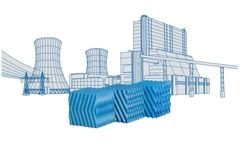 2H SANIPACKING - Anti-Legionella Fills for Cooling Towers