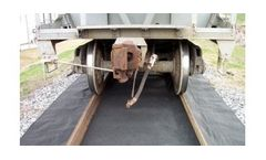 Railroad Containment Absorbent Track Mat