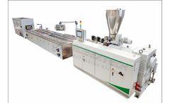Aceextech - Model ACE5 Series - Plastic Profile Extrusion Line Machine