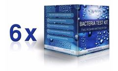 AquaVial - 6 Pack Bacteria Water Test Kit