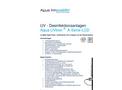 Aqua UVtron - Model A series LCD - UV-C Water Disinfection Units