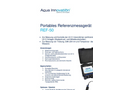 Aqua Innovation - Model REF-50 - Reference Measuring Portable Device