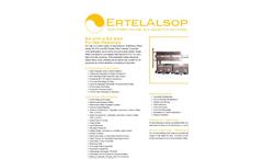 ErtelAlsop - Model EA 470 & EA 630 - Recessed Chmaber Filter Presses Brochure