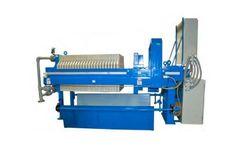 ErtelAlsop - Model EA 800 & EA 1000 - Recessed Chamber Filter Presses System
