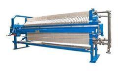 ErtelAlsop - Model EA 1200 & EA 1500  - Recessed Chamber Filter Presses