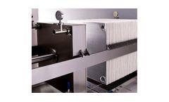 ErtelAlsop - Model Letre Series - Plate and Frame Filter Presses