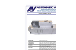 Automatic - Model B7058-029 - Caustic Chemical Valve - Datasheet
