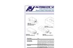 Automatic - Glass Valves - Datasheet