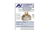 Automatic - Model D20-063 - Dual Quick Exhaust - Datasheet