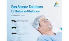 Gas Sensor Solutions for Medical Ventilators and Concentrators