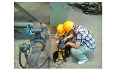 Gas analyzer solution for portable syngas analyzer for coal gas pipes