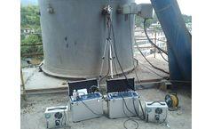 Flue gas analyzer solutions for portable infrared flue gas analyzer